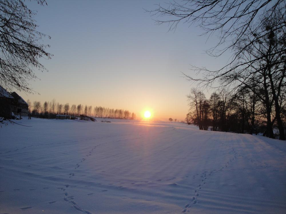 Kozice 26I2013 Gorgeous Winter sunset